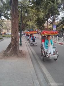 Hanoi - pedicab line 2