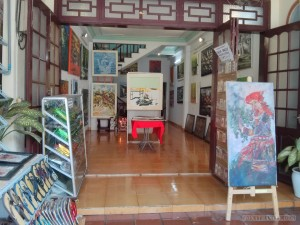 Hoi An - art gallery 1