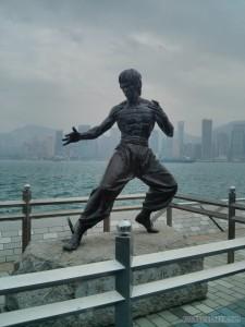 Hong Kong - Avenue of Stars Bruce Lee statue