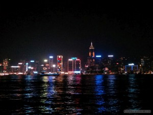 Hong Kong - Symphony of Lights view