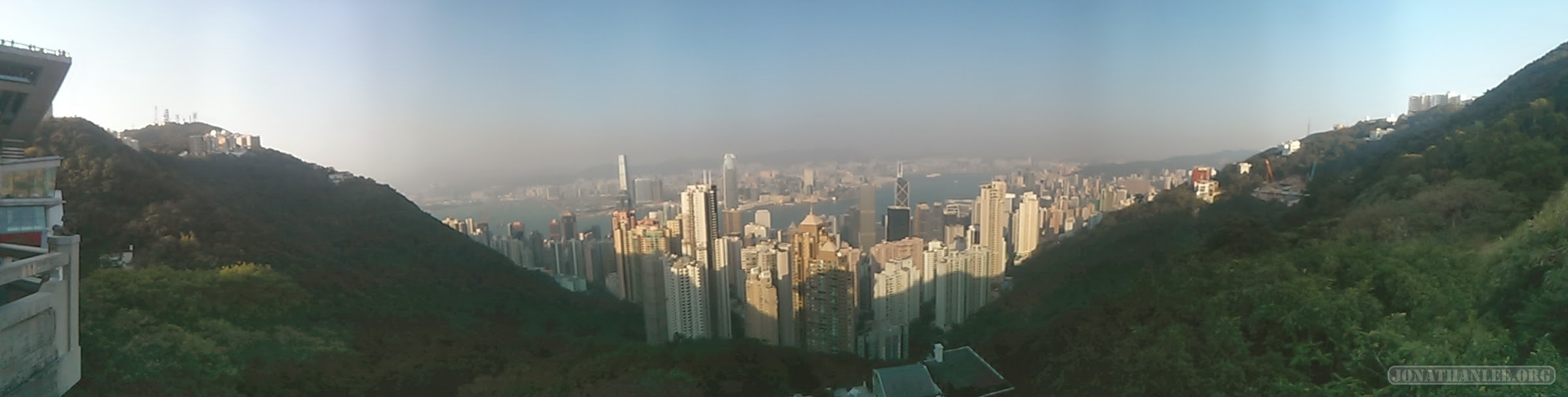 Hong Kong - Victoria peak panorama 1