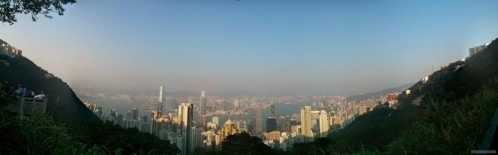 Hong Kong - Victoria peak panorama 2