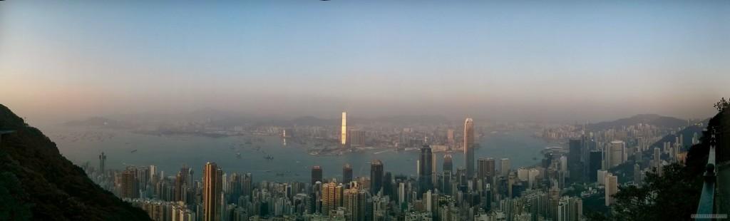 Hong Kong - Victoria peak panorama 3
