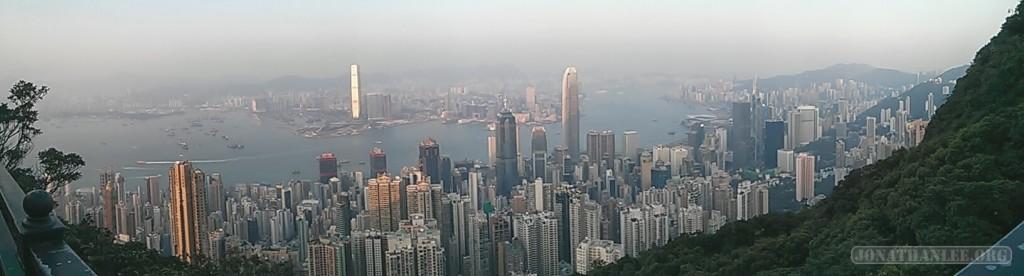 Hong Kong - Victoria peak panorama 4