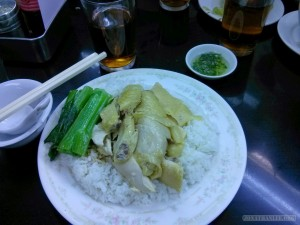 Hong Kong - chicken and rice 2