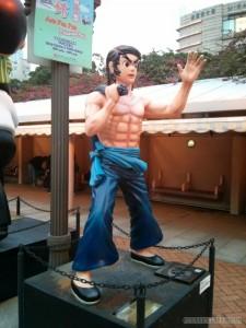 Hong Kong - comic hero Bruce Lee