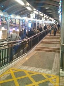 Hong Kong - worlds largest escalator 1
