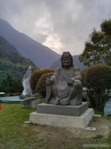 Hualien - Taroko visitor center statue