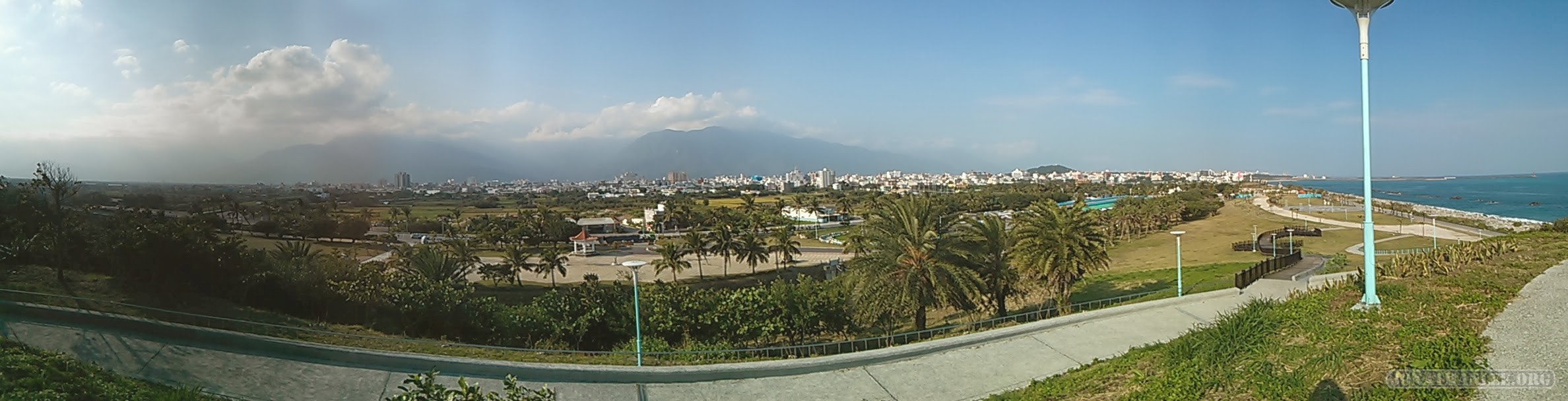 Hualien - city panorama