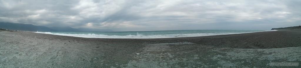 Hualien - coastline panorama
