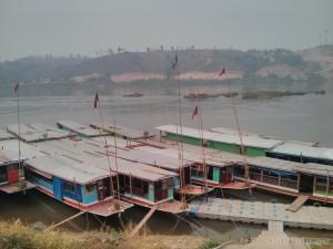 Huay Xai - pier view
