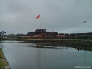 Hue - Citadel flag pole