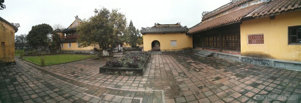 Hue - panorama Citadel 1