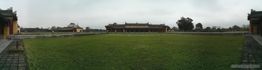 Hue - panorama Citadel 3