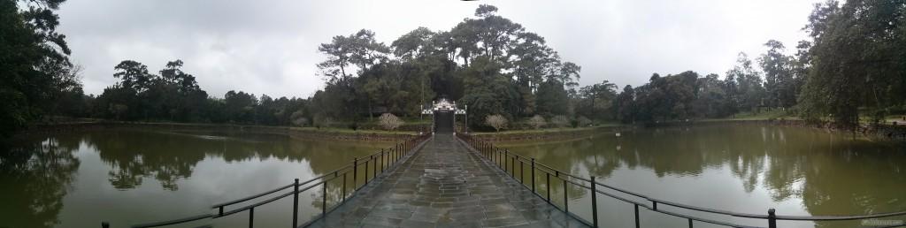 Hue - panorama Minh Mang tomb 2