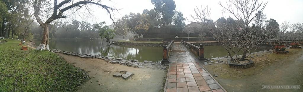 Hue - panorama Minh Mang tomb 3