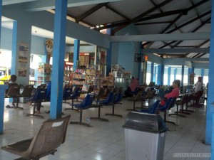 Indonesia travel - Mataram bus station