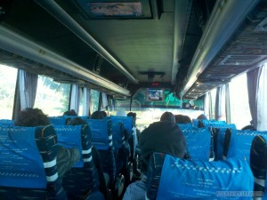 Indonesia travel - bus