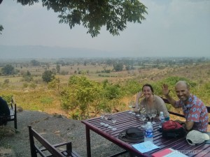 Inle Lake - Red Mountain winery view 1