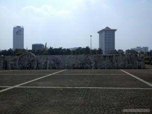Jakarta - National Monument mural