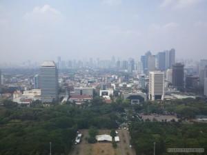 Jakarta - aerial view 1