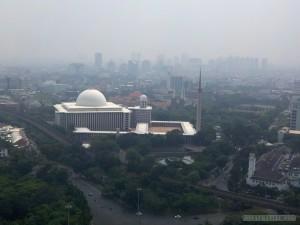 Jakarta - aerial view 2