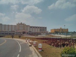 Kampot - Bokor empty casino resort