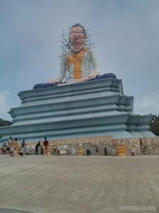 Kampot - Bokor female buddha