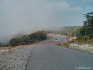 Kampot - Bokor mountain road 1