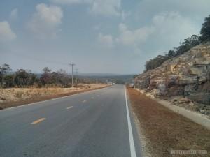 Kampot - Bokor mountain road 2