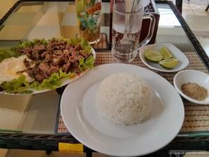 Kampot - lunch