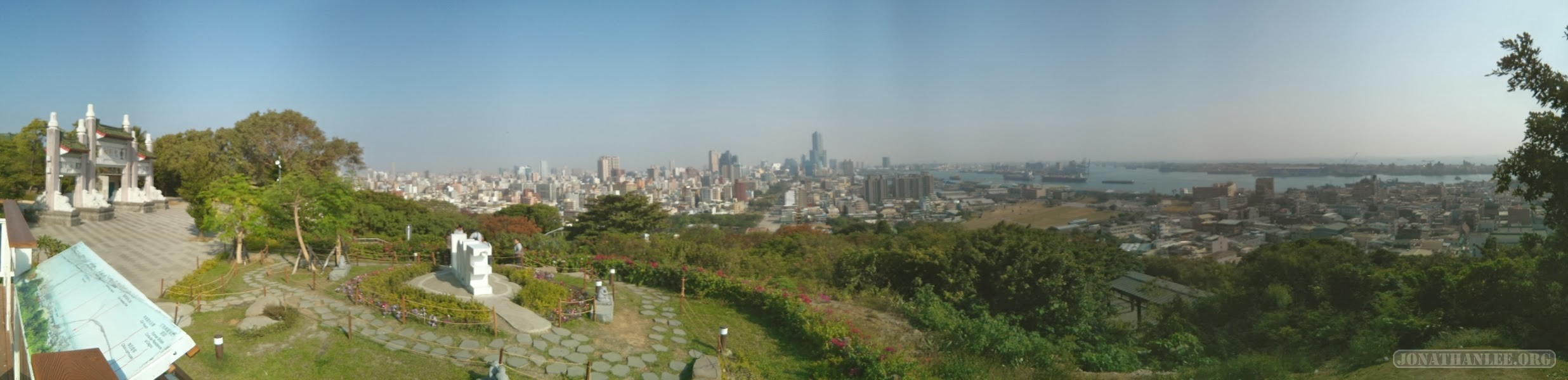 Kaohsiung - panorama martyrs shrine 1