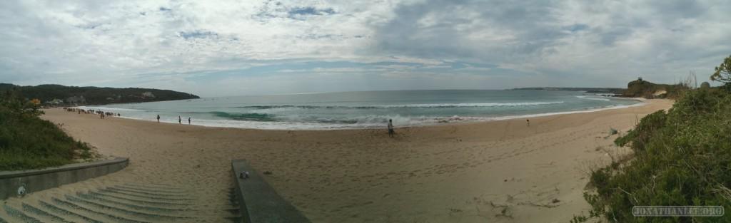 Kenting - panorama east coast surfers