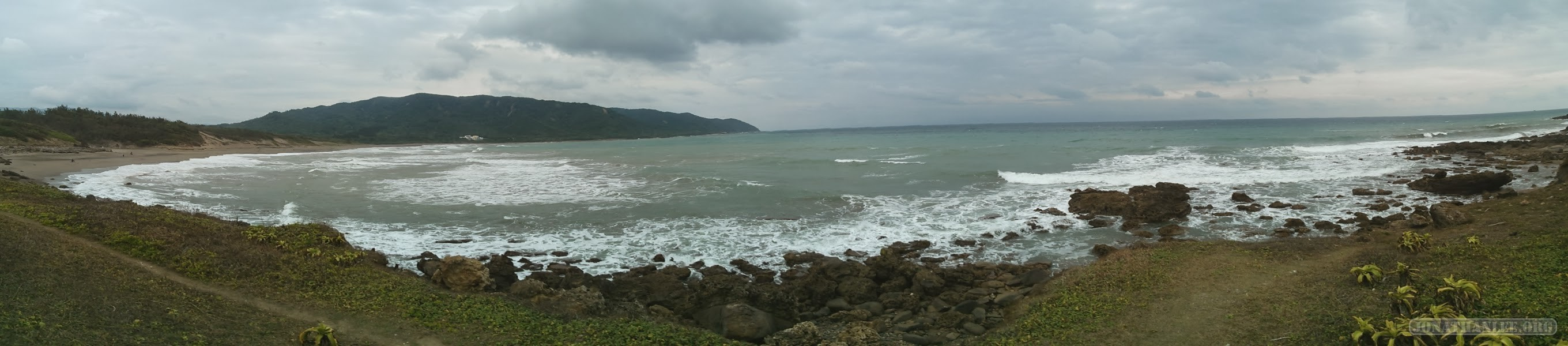 Kenting - panorama east coast