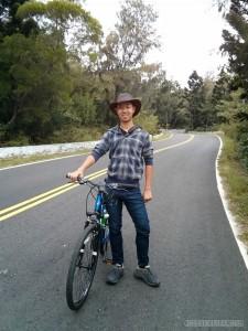 Kenting - portrait on bike 1