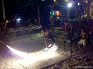 Koh Phangan - Full Moon fire jump rope