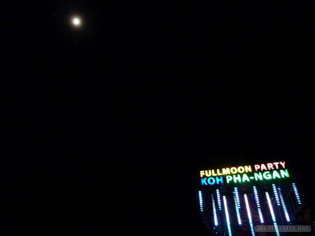 Koh Phangan - Full Moon logo and moon