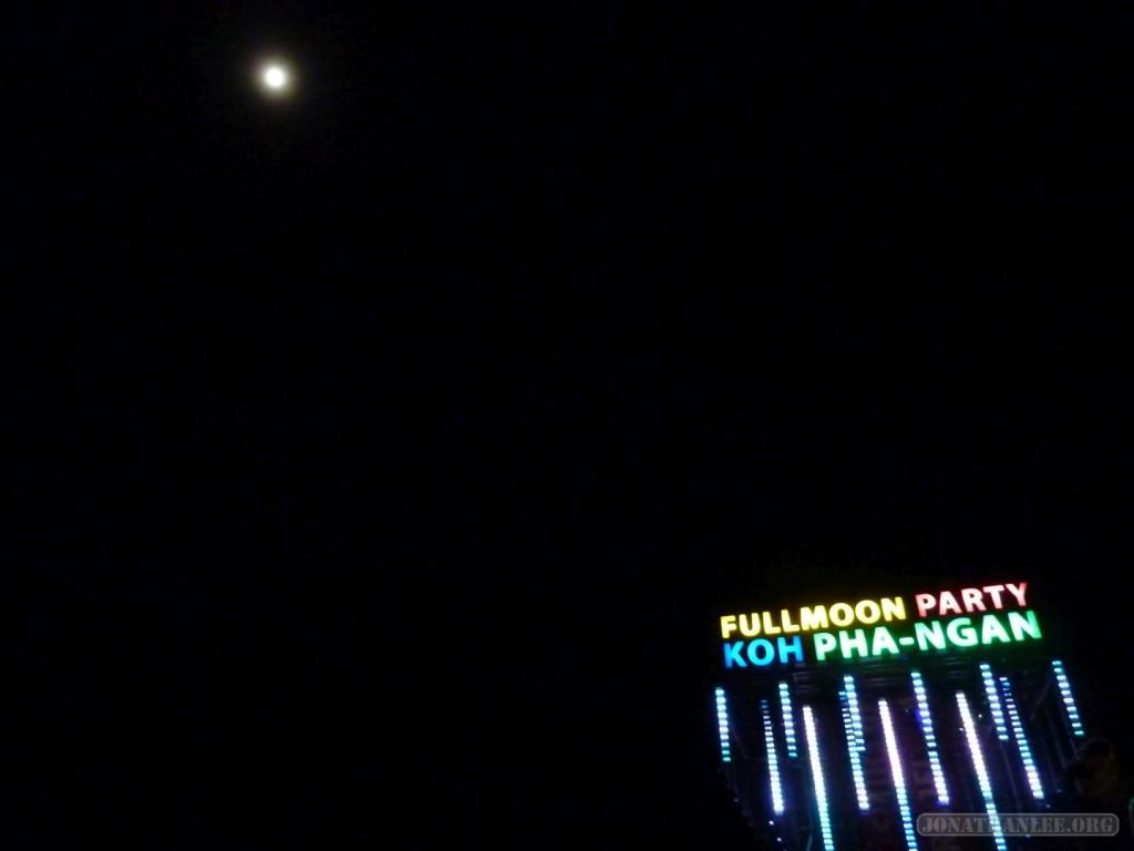Koh Phangan - Full Moon logo and moon