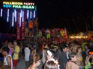 Koh Phangan - Full Moon party 1