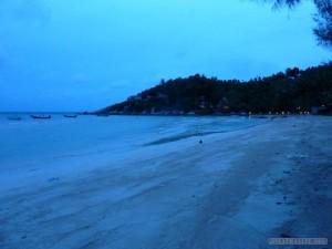 Koh Tao - beach during the night