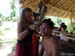 Koh Tao - haircut