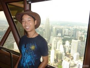 Kuala Lumpur - KL Tower top portrait 2
