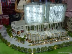 Kuala Lumpur - KL convention center model