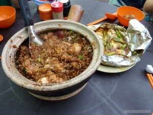 Kuala Lumpur - claypot chicken and rice