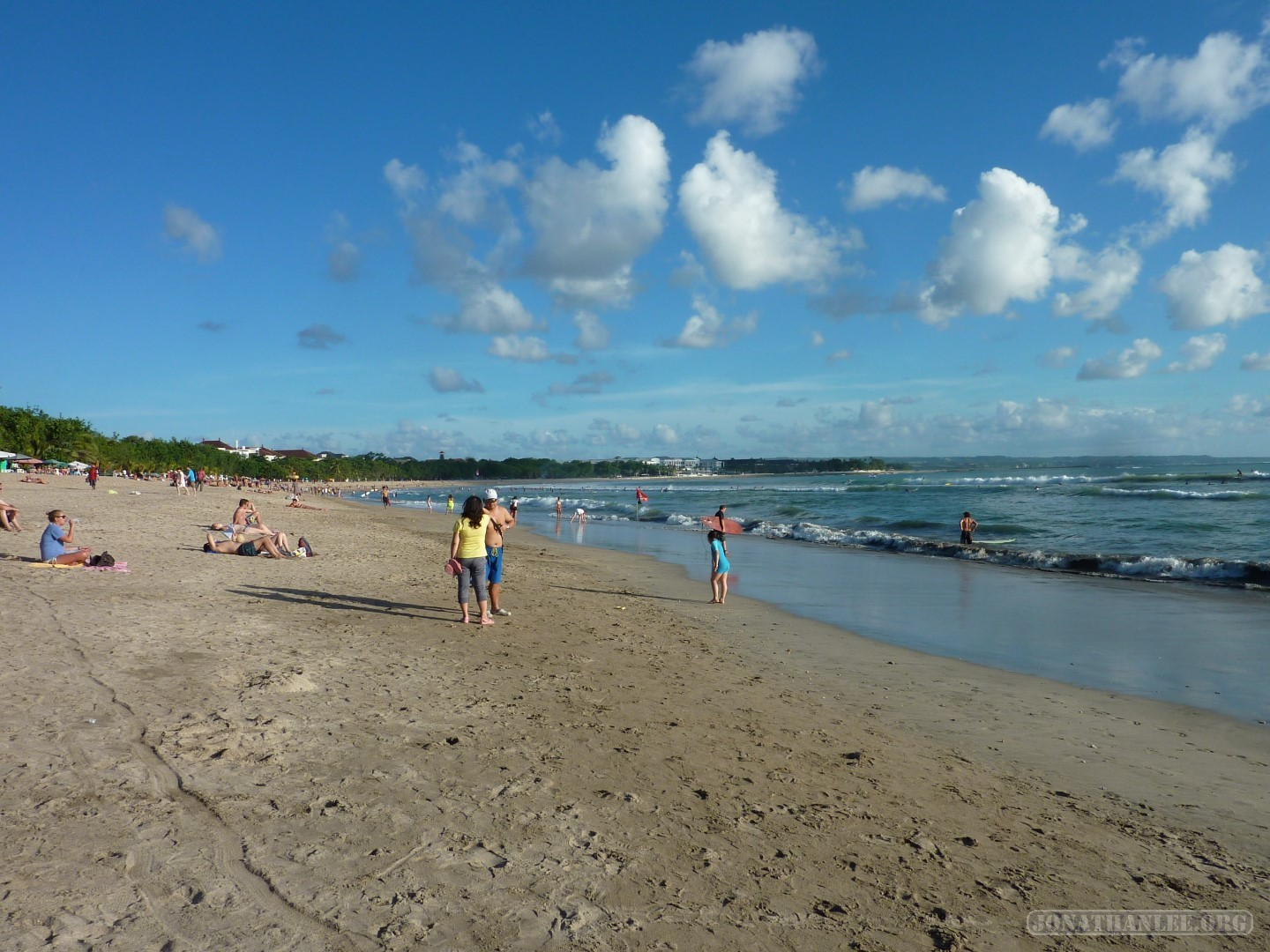 Kuta is the best known tourist resort area on the island of Bali in ...