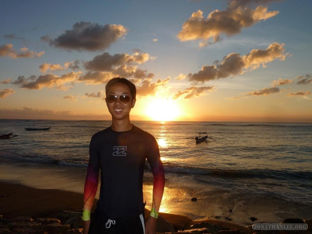 Kuta Bali - sunset portrait