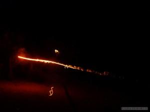 Kuta Lombok - greek candle war 1