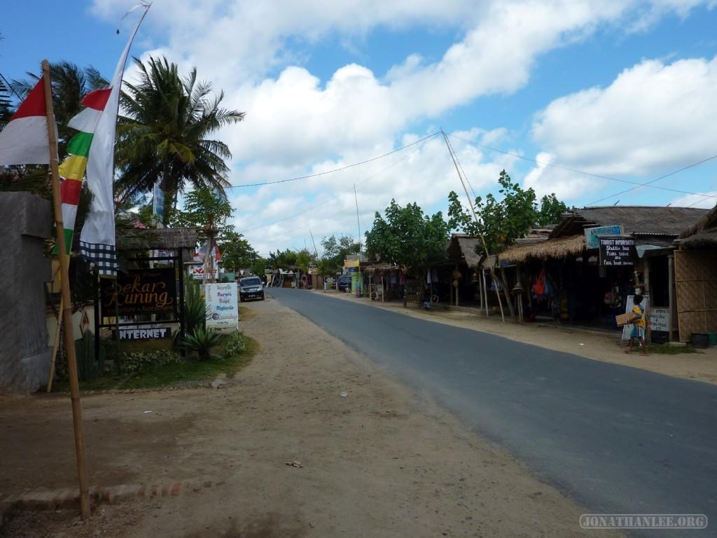 Kuta Lombok - town 1