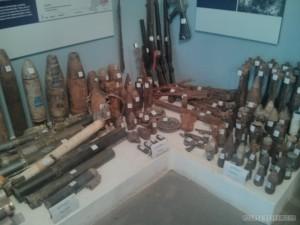 Luang Prabang - UXO Laos rockets mortars shells