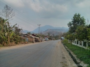 Luang Prabang - city view outskirts